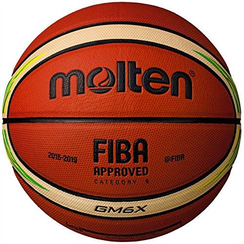 Bóng rổ Molten BGM6X-YG – phiên bản đặc biệt của FIBA