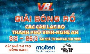 Molten Việt Nam hân hạnh đồng hành cùng Giải Bóng Rổ Các Câu Lạc Bộ TP VINH - NGHỆ AN