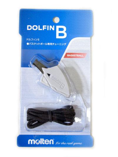 Còi trọng tài bóng rổ Molten DOLFIN B – xám