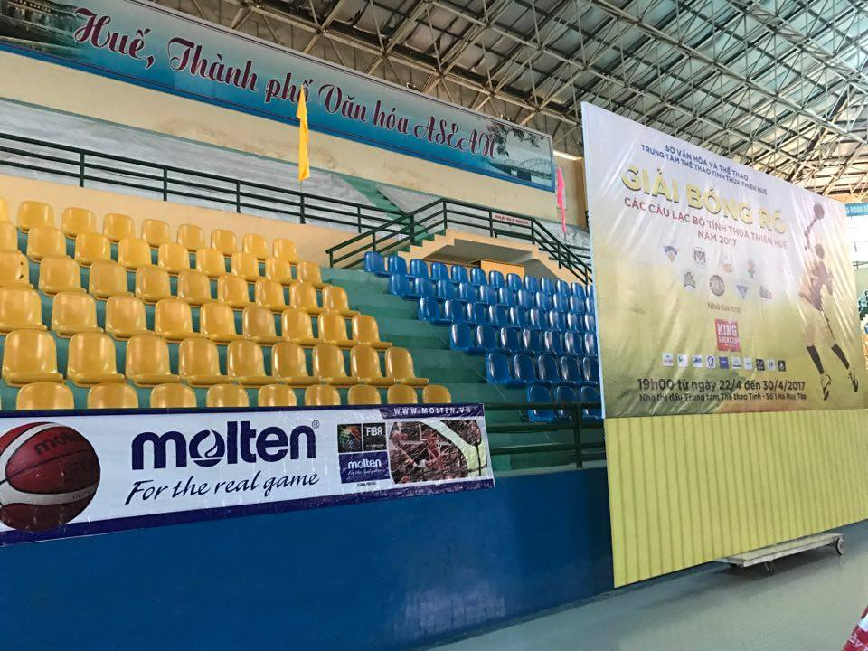 Giải được tài trợ bởi thương hiệu bóng rổ hàng đầu thế giới Molten, đến từ Nhật Bản